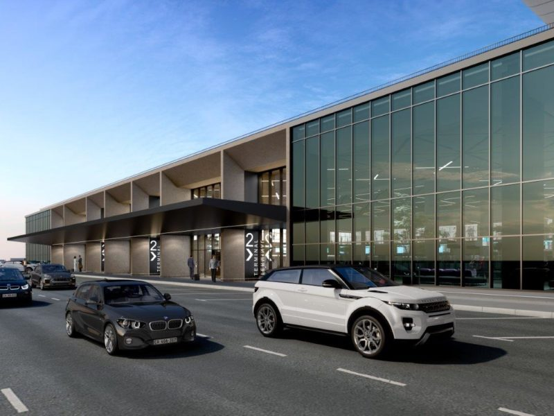 cape town international airport new terminal by design scape scape architects